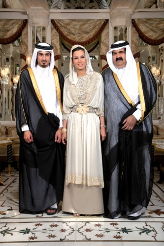 موزة وما يخبى (سيرة آل خرفان)  و العلاقات القطرية الأمريكية  1201977846