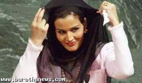 فضائح زوجة أمير قطر موزة بنت مسند