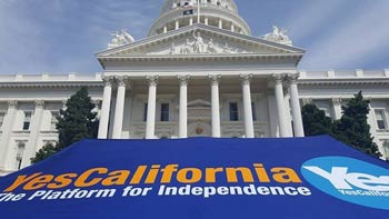 A call for a referendum on the secession of California 2018