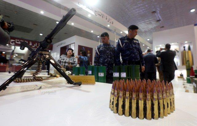 رئيس اركان الجيش العراقي يفتتح معرض الامن والدفاع ويؤكد أن شركة الصناعات الحربية العراقية بدأت بالتنفس 5c83c4f73b38a