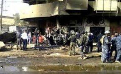 انتهاء حصيلة تفجير جنوب الناصرية عند 28 شهيدا وجريحاً غالبيتهم من الحشد واعتقال مشتبه به