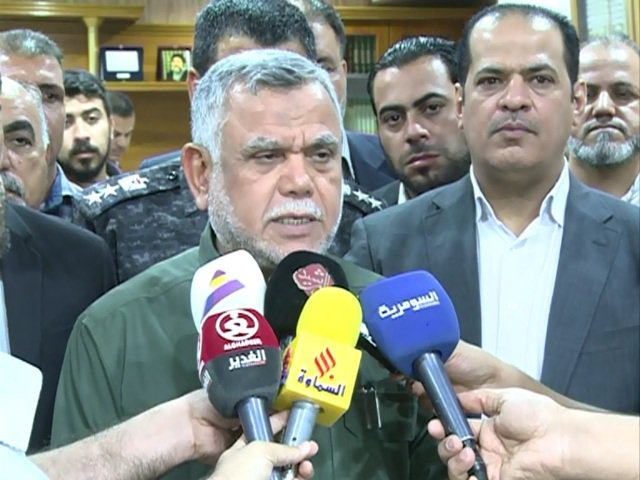 Al-Amiri - US Secretary of State is not welcome in Baghdad and I ask Abadi not to receive him