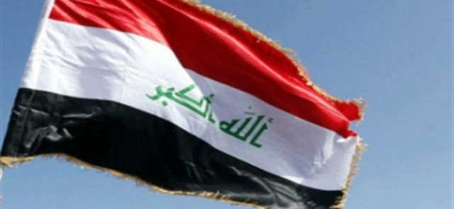 Young Mosul raising the Iraqi flag over three buildings west of Mosul and Daesh terrorist encircled