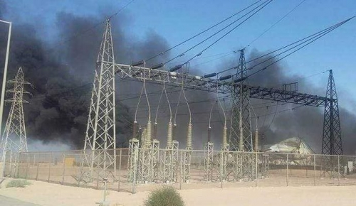 Iraqi forces regain the largest power station in Mosul