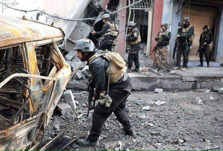 Joint operations are issued important instructions for civilians trapped in Ayman al-Mosul