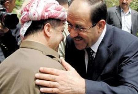 Kurdish source - Nuri al-Maliki is allowed to peshmerga to extend for a share of oil smuggler
