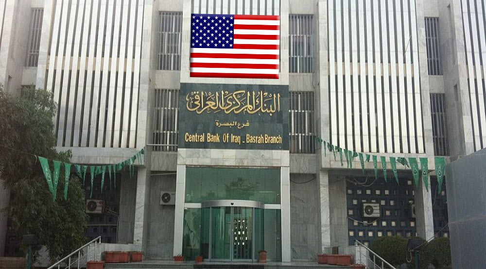 A US financial official controls and monitors the Central Bank of Iraq