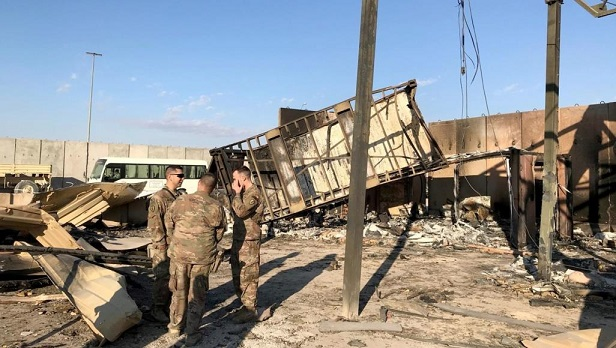 Disclosure of new details about the attack on sensitive US sites in Iraq