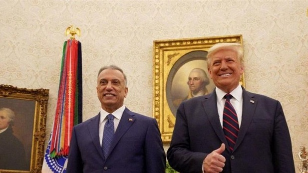 Trump informs Al-Kazemi of the timing of the withdrawal of US forces from Iraq