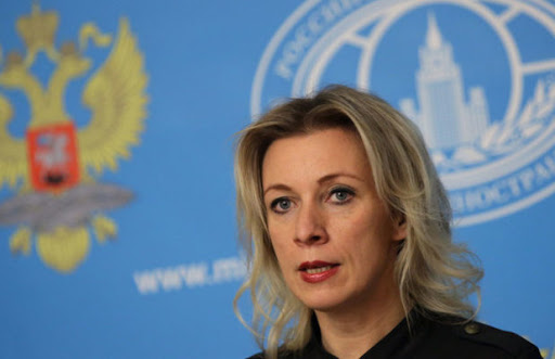 Zakharova expresses her shock at the Pentagons statements about the Afghans clinging to its planes