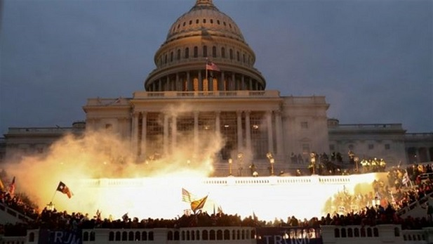 Congressional police warn of plans to blow up the Capitol building during Biden's upcoming speech